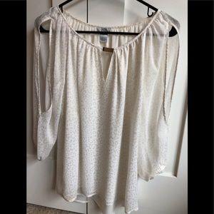 Ivory blouse